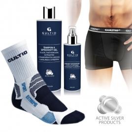 Sport balíček pro muže s aktivním stříbrem Gultio