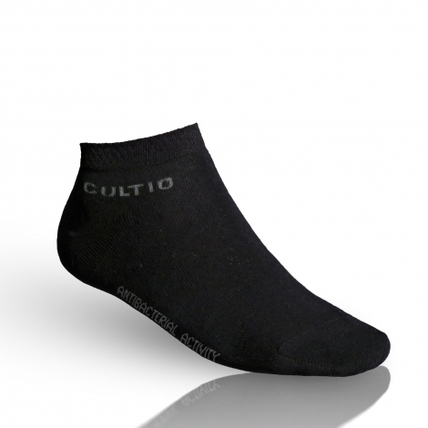 Ponožky se stříbrem snížené, černé