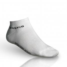 Ponožky se stříbrem snížené, bílé