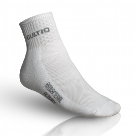 Polovysoké polofroté ponožky s aktivním stříbrem