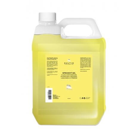 Sprchový gel s aktivním stříbrem, aloe vera, panthenolem a extraktem z orchidee náhradní náplň
