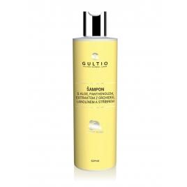 Šampon s aloe, panthenolem,  extraktem z orchidee, lanolínem a stříbrem