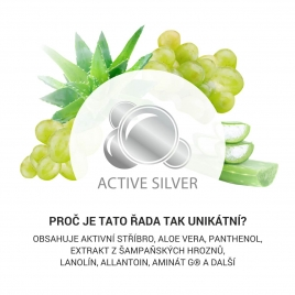 Kosmetika s přírodními extrakty a aktivním stříbrem pro muže