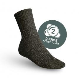 Pracovní ponožky zimní s aktivním stříbrem