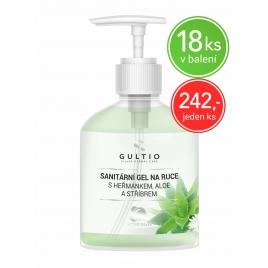 Sanitární gel na ruce se stříbrem, heřmánkem a aloe vera - 300ml