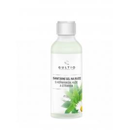 Sanitární gel na ruce se stříbrem, heřmánkem a aloe vera - 100ml