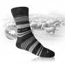 Ponožky z MERINO vlny a stříbra - letní